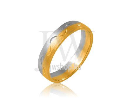 Arany karikagyűrű P697