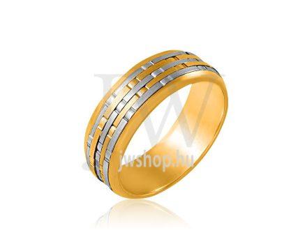 Arany karikagyűrű P721