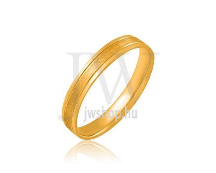 Arany karikagyűrű P725