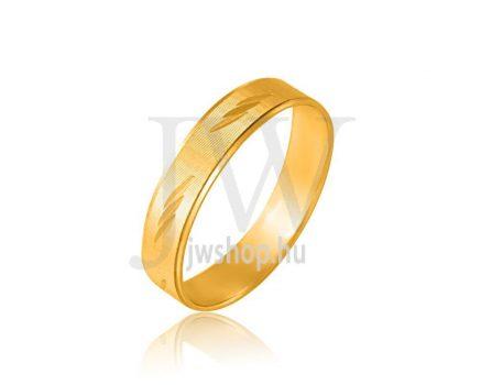 Arany karikagyűrű P73