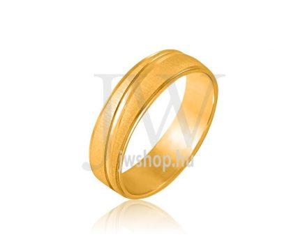 Arany karikagyűrű P758S