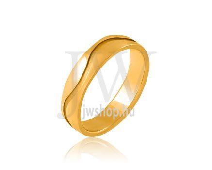 Arany karikagyűrű P798