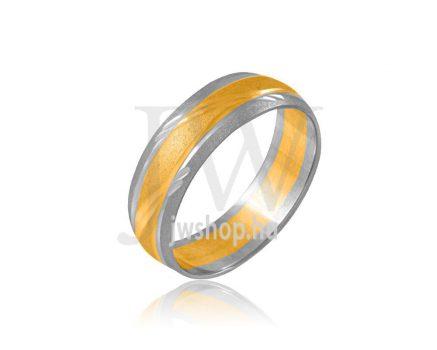 Arany karikagyűrű P818