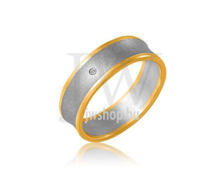 Arany karikagyűrű P851K
