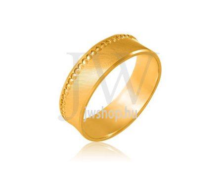 Arany karikagyűrű P899