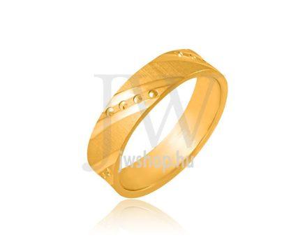 Arany karikagyűrű P933