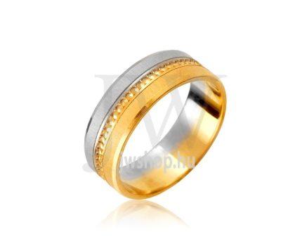 Arany karikagyűrű P934