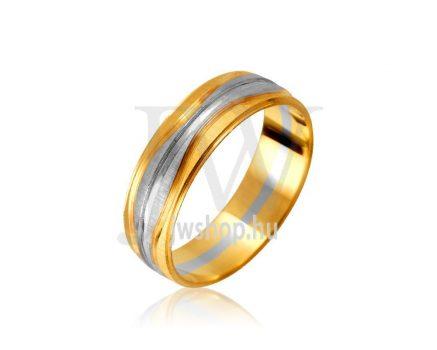 Arany karikagyűrű P969