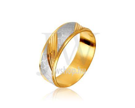 Arany karikagyűrű T11