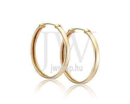 Arany karika fülbevaló - 261