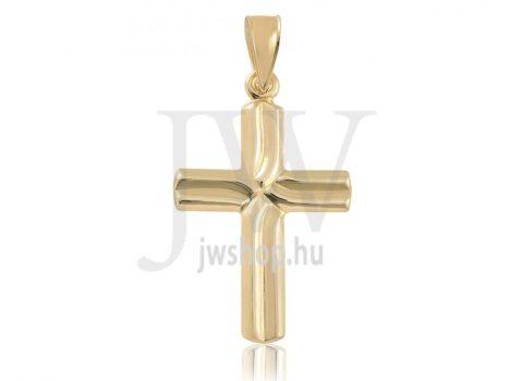 Arany kereszt medál - 7