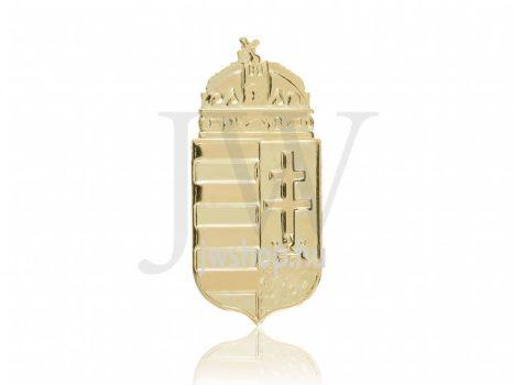 Arany, lap medál koronával - 77