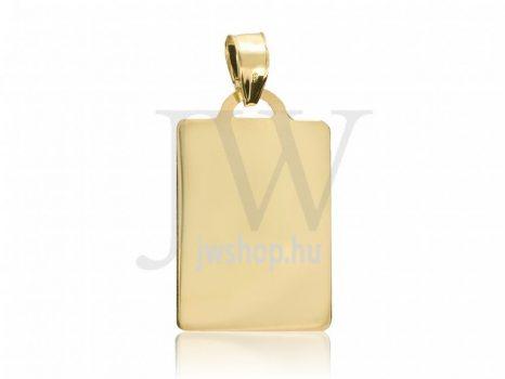 Arany, lap medál - 80