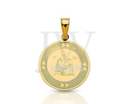 Arany horoszkóp medál - 158