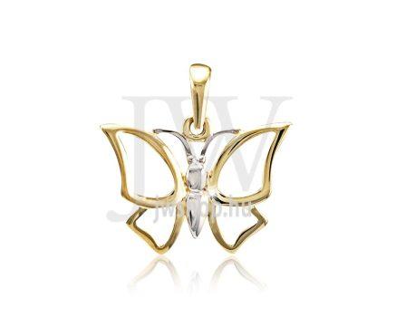 Arany, pillangó medál - 195