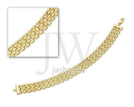 Arany karkötő - 50 L 092