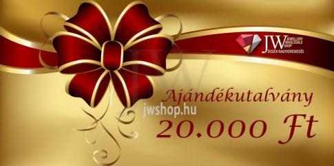 Ajándékutalvány 20.000 Ft