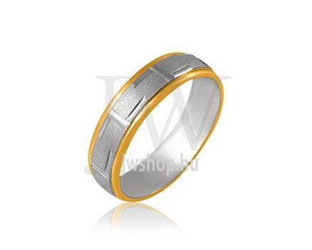 Arany karikagyűrű P1129