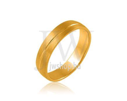 Arany karikagyűrű P1183
