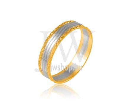 Arany karikagyűrű P216