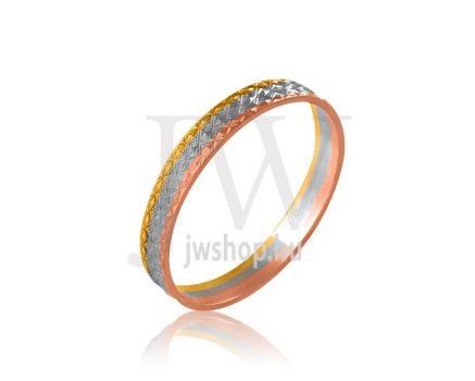 Arany karikagyűrű P372