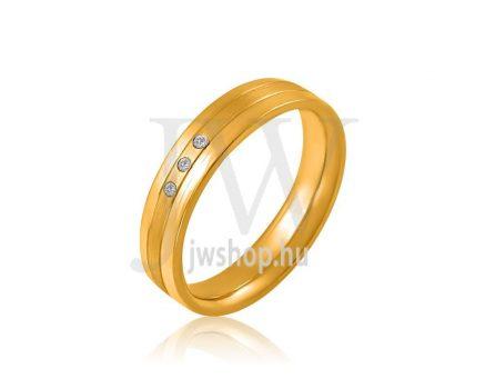 Arany karikagyűrű P4019K
