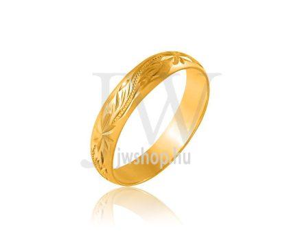 Arany karikagyűrű P4BAROKK