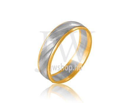 Arany karikagyűrű P635