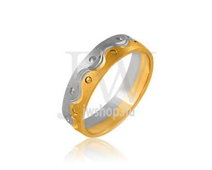 Arany karikagyűrű P643
