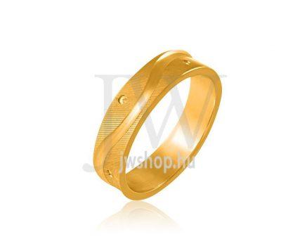 Arany karikagyűrű P753
