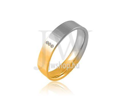Arany karikagyűrű P799K