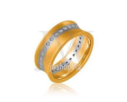 Arany karikagyűrű P800K
