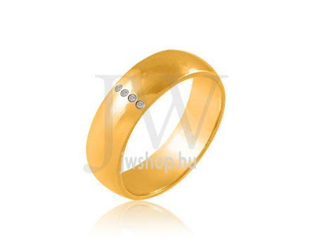 Arany karikagyűrű P801K