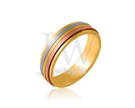 Arany karikagyűrű P844