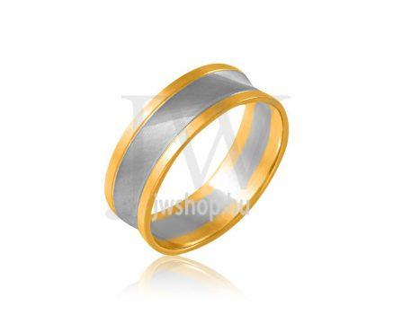 Arany karikagyűrű P849