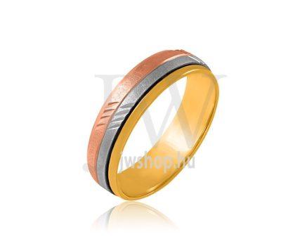 Arany karikagyűrű P883