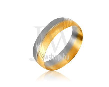 Arany karikagyűrű P984