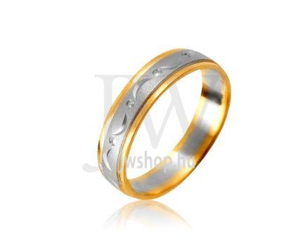 Arany karikagyűrű P997